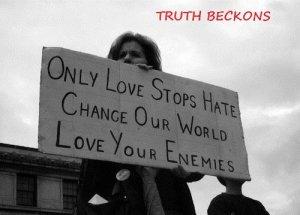 Love your enemies