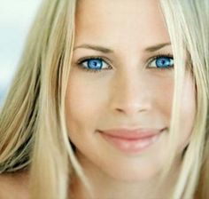 blue-eyed blond