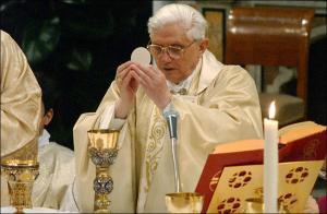 Priest offering