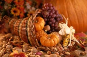Still Life of Thanksgiving Harvest