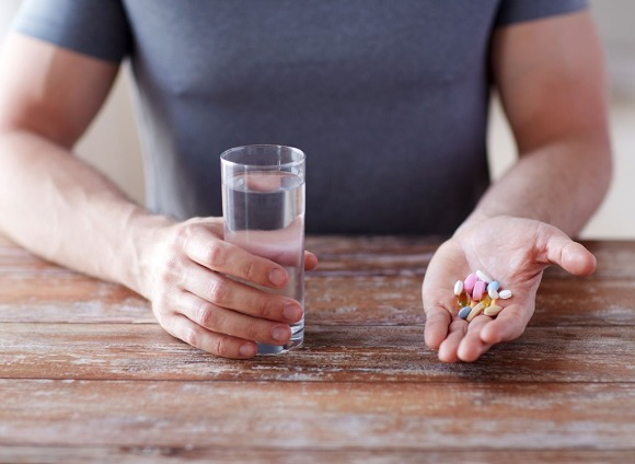 taking nutritional supplements