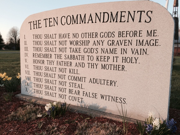 The 10 Commanndments