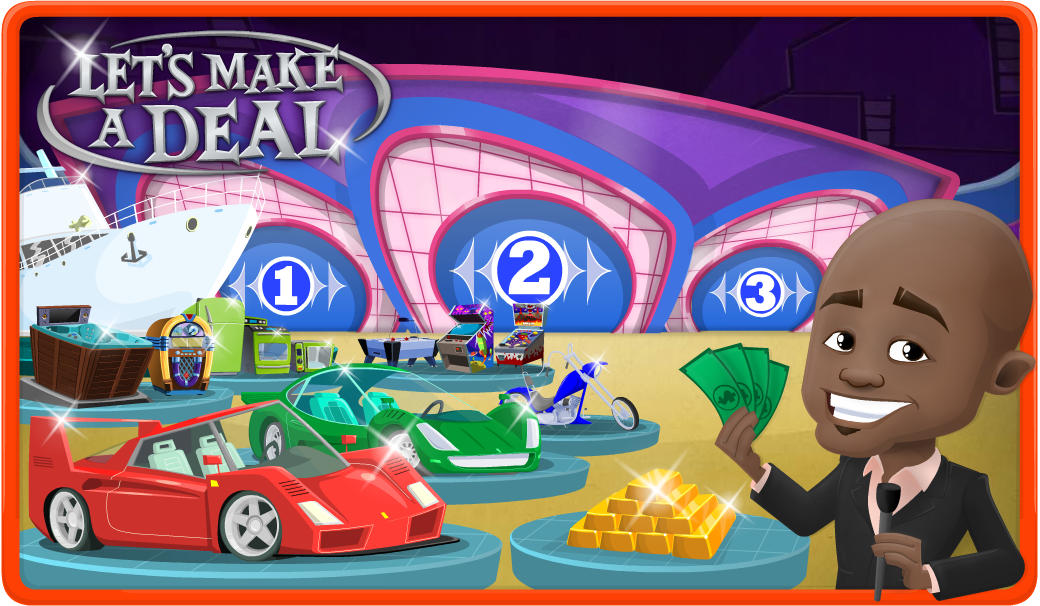 Lets make a deal game show prizes