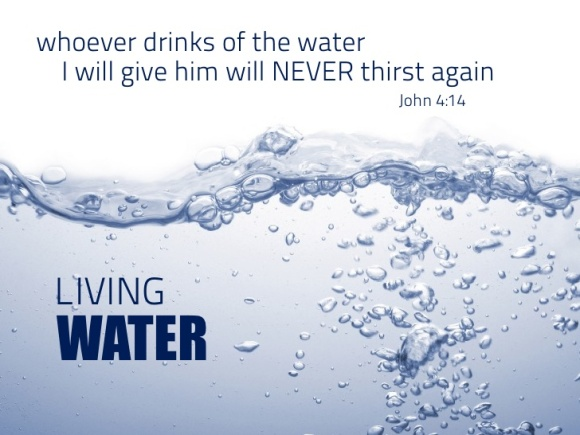 Never thirst again