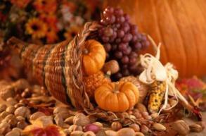 Still Life of Thanksgiving Harvest