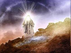 God's glory shining through Moses