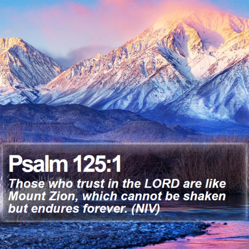 Psalm 125 - security
