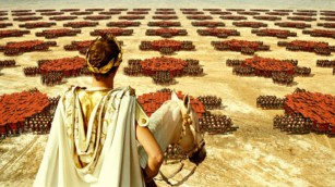 Roman Army ready to march into battle