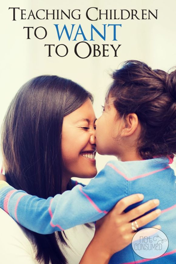 Training children to want to obey