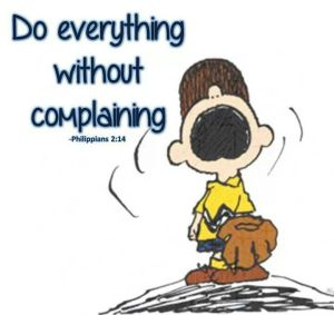 Charlie-Brown - Complaining and arguing