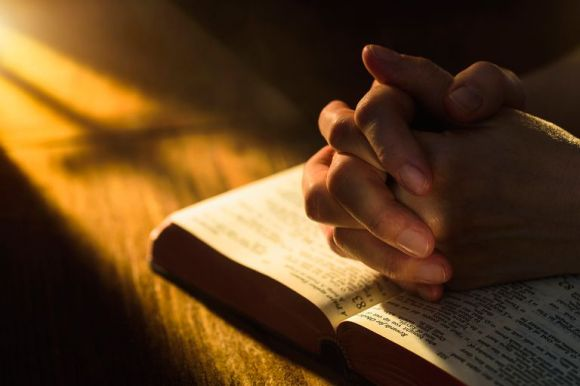 Prayer over the Bible