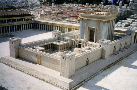 Solomons temple exterior