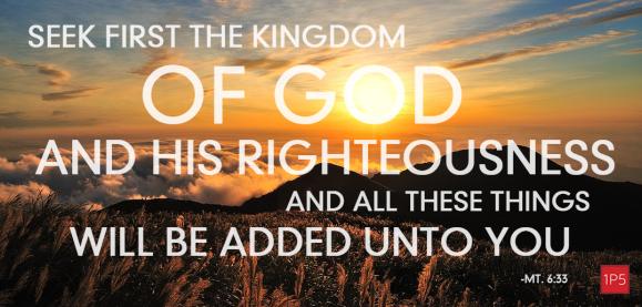 Matthew 6[33