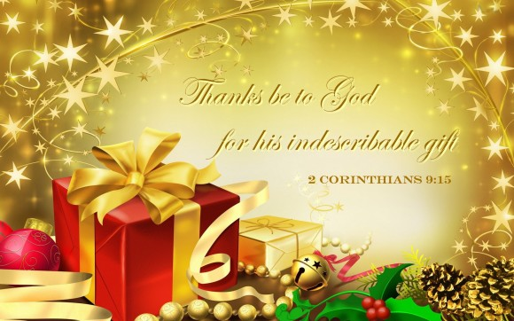 Indescribable gift - Christmas
