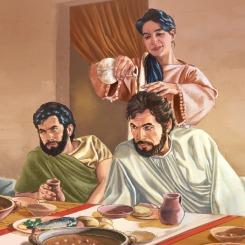 Matthew 26 - Jesus anointed
