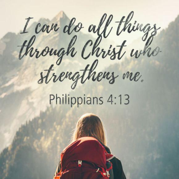 Philippians 4{13