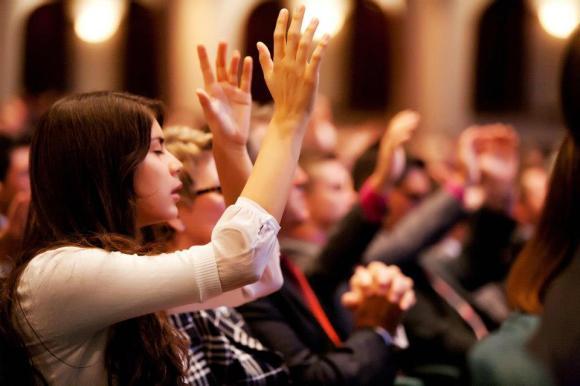 Worship at Church
